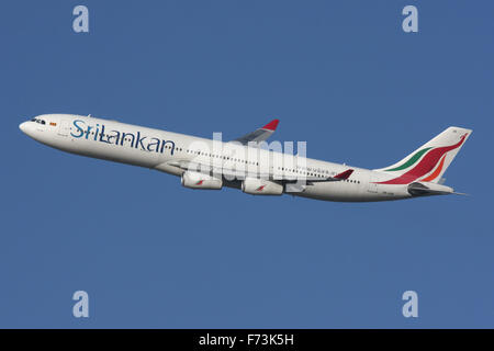 SRILANKAN SRI LANKA A340 - Stock Photo