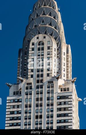 Chrysler Building, Manhattan, New York, USA - Stock Photo