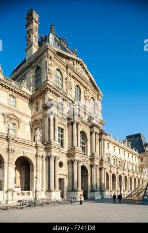 France, Paris, Le Louvre museum - Stock Photo