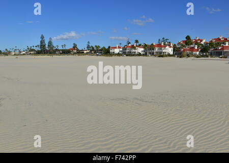 Hotel del Coronado  beach front hotel in the city of Coronado, - Stock Photo