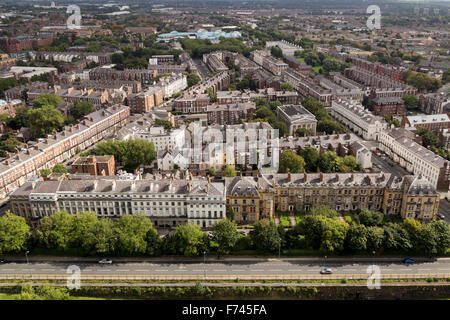 View from Liverpool Anglican Cathedral - Stock Photo