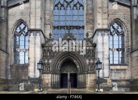 St Giles' Cathedral, Edinburgh, Scotland, UK - Stock Photo