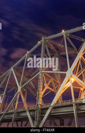 New Eastern span of Oakland Bay Bridge, San Francisco, California, USA. - Stock Photo