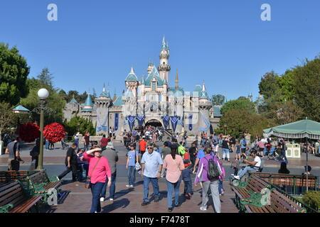 Disneyland Los Angeles - Stock Photo