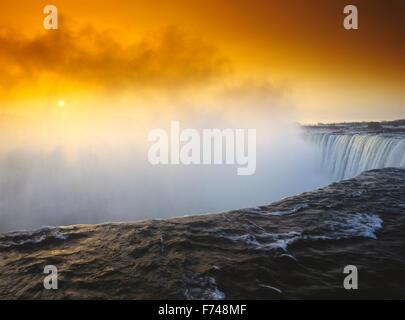 North America, Canada, Ontario, Niagara Falls - Stock Photo