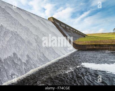 Wet Sleddale Reservoir - Stock Photo
