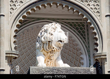 Sculpture of a lion - Stock Photo