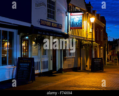 The Sun Inn, Faversham, Kent, England UK - Stock Photo