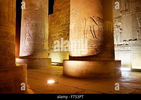 Egypt - Kom Ombo, Temple of Sobek - Stock Photo