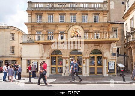 Theatre Royal Bath, Bath Somerset England United Kingdom UK - Stock Photo