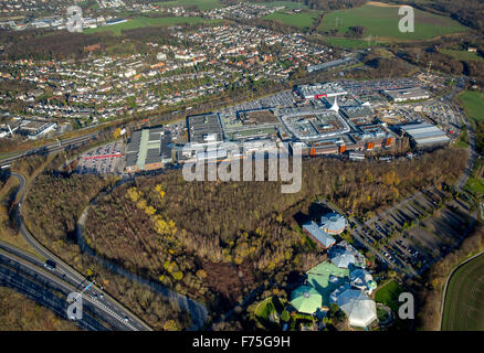 Ruhr Park Bochum on the A40 A43, shopping center, remodeling, roofing, restructuring, facelift, Bochum, Ruhr area, - Stock Photo