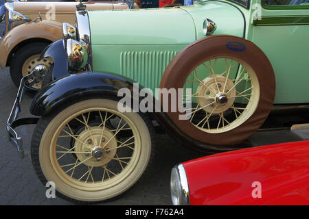 Vintage car ford, india, asia - Stock Photo