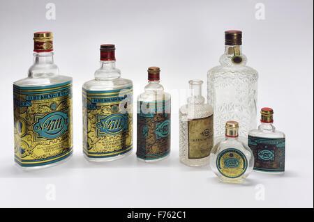 Antique, perfume bottles, india, asia - Stock Photo
