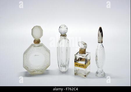 Vintage, perfume bottles, india, asia - Stock Photo