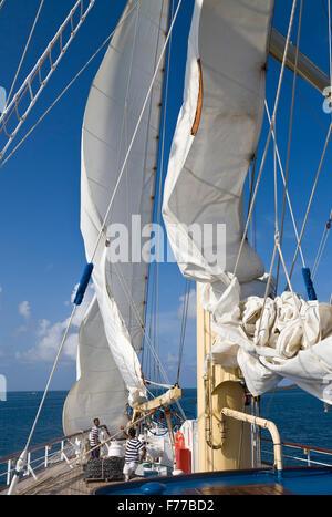Sailing ship - Stock Photo