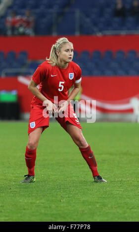 Schauinsland-Reisen-Arena, Duisburg, Germany. 26th Nov, 2015. Womens International Friendly. Germany versus England. - Stock Photo