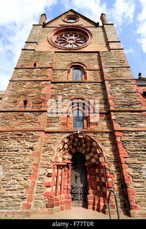 St Magnus Cathedral Kirkwall Orkney Islands Scotland UK - Stock Photo