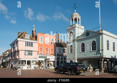 The Guildhall, Market Place, Faversham, Kent, England, United Kingdom - Stock Photo