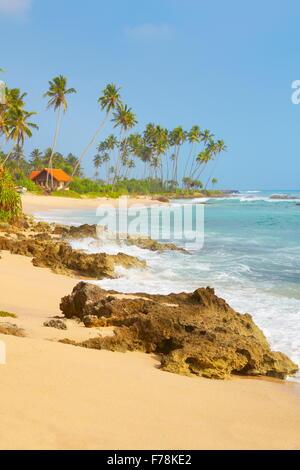 Sri Lanka - Koggala beach, village near Galle - Stock Photo