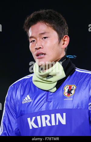 Shonan BMW Stadium Hiratsuka, Kanagawa, Japan. 26th Nov, 2015. Tatsuki Nara (JPN), NOVEMBER 26, 2015 - Football/Soccer - Stock Photo