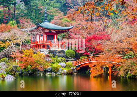 Kyoto, Japan at Daigoji Temple. Stock Photo