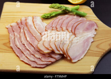 Sliced Bacon - Stock Photo