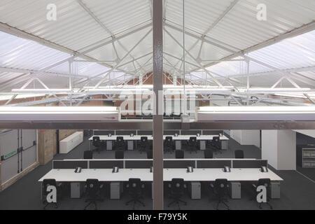 Modern Office development 2012, design by Found Associates - Stock Photo