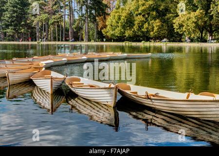 Bois de Boulogne Paris France - Stock Photo