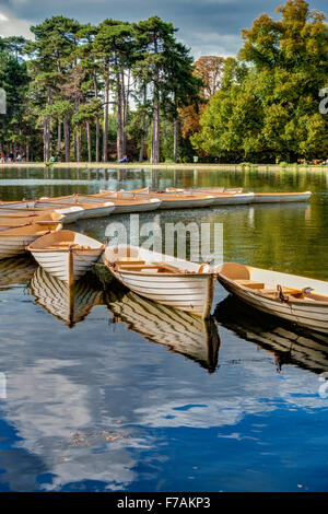 Bois de Boulogne Paris France - Stock Photo