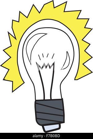 Illumination lamp operable - Stock Photo