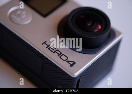 GoPro Hero 4 black camera - Stock Photo
