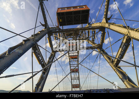 Prater, Riesenrad, Giant Ferry Wheel, Vienna, Austria, 2. district - Stock Photo