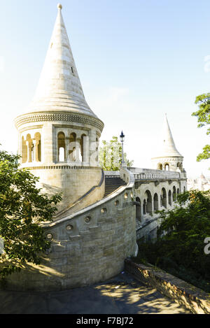 Budapest, Fisherman Bastion, Hungary - Stock Photo