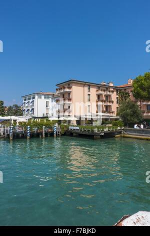 Sirmione on Lake Garda, Gardasee, Brescia, Lombardy, Italy, Sirmione