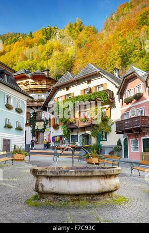 Hallstatt village, Salzkammergut, Austria