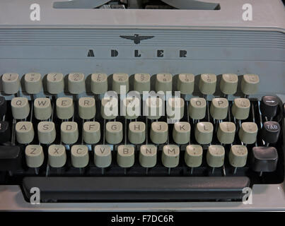 Antique Triumph Adler Gabriele20 mechanical typewriter - Stock Photo