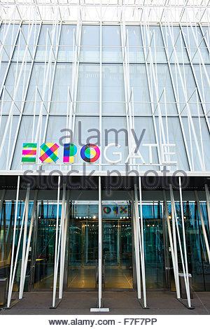 expo gate,milan - Stock Photo