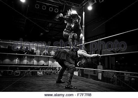 wrestling - Stock Photo