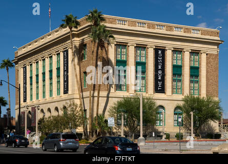 Mob Museum Las Vegas Nevada USA - Stock Photo