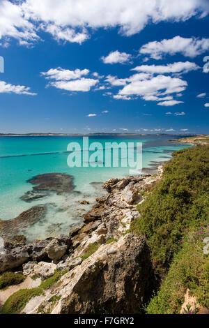 Vivonne Bay on Kangaroo Island - Stock Photo