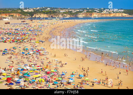 Rocha Beach, Portimao, Algarve coast, Portugal - Stock Photo