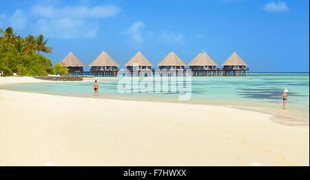 Maldives Beach, Ari Atoll - Stock Photo