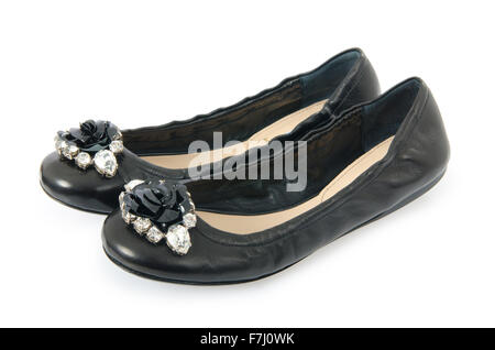 Ballet shoes in fashion concept - Stock Photo