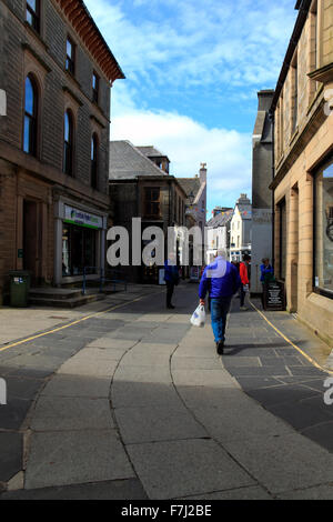 Albert Street Kirkwall Orkney Islands Scotland UK - Stock Photo