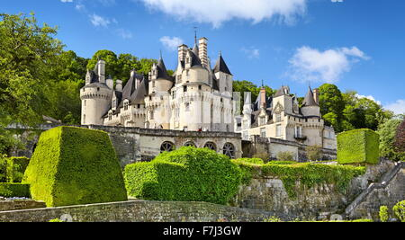 Usse Castle, Usse, Loire Valley, France - Stock Photo