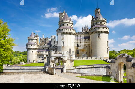 France - Pierrefonds Castle, Picardie (Picardy) - Stock Photo