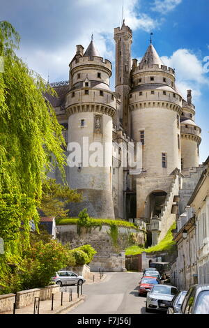 Pierrefonds Castle, Picardie (Picardy), France - Stock Photo