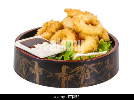 how to make fried calamari batter