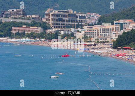 Bicici, Montenegro.  Known as the Budva Riviera. - Stock Photo