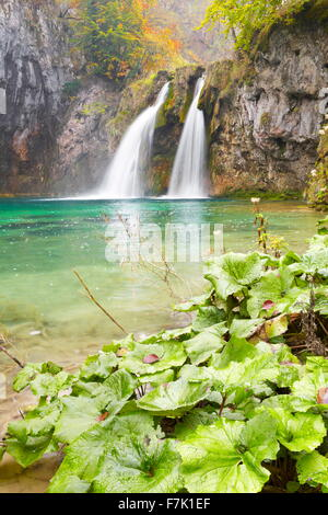 Plitvice Lakes National Park, Croatia, Europe - Stock Photo
